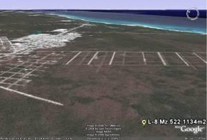 Tulum Satellite Image