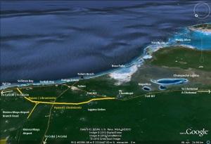 Libramiento de Tulum Bypass Airport Riviera Maya Road
