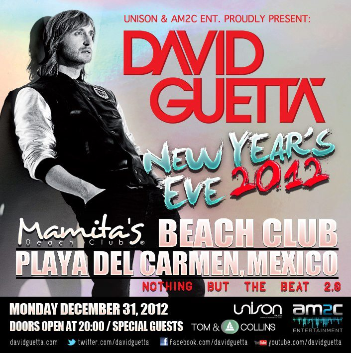 David Guetta Riviera Maya
